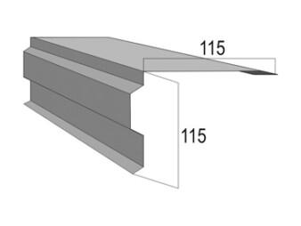 Торцевая планка (Ветровая (ПТО01))