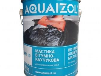 Мастика битумно-каучуковая АМ-10 (ведро 3 кг)