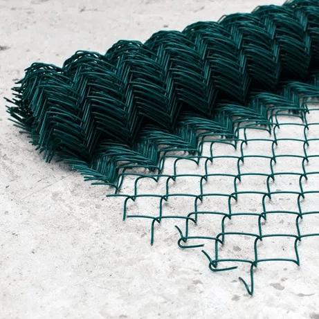 Сетка рабица Ø1.5/2.5 мм. 25х25 мм., 1х10 м.пог., цинк+ПП