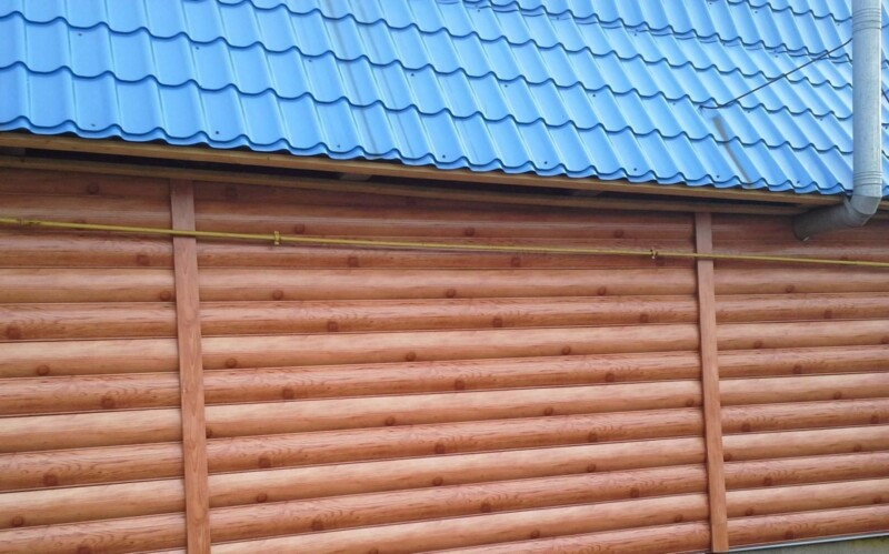 Блок-Хаус, под бревно, Ольха, Китай